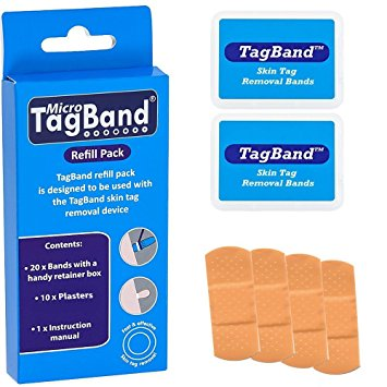 Micro TagBand Refill Band Pack For Skin Tags