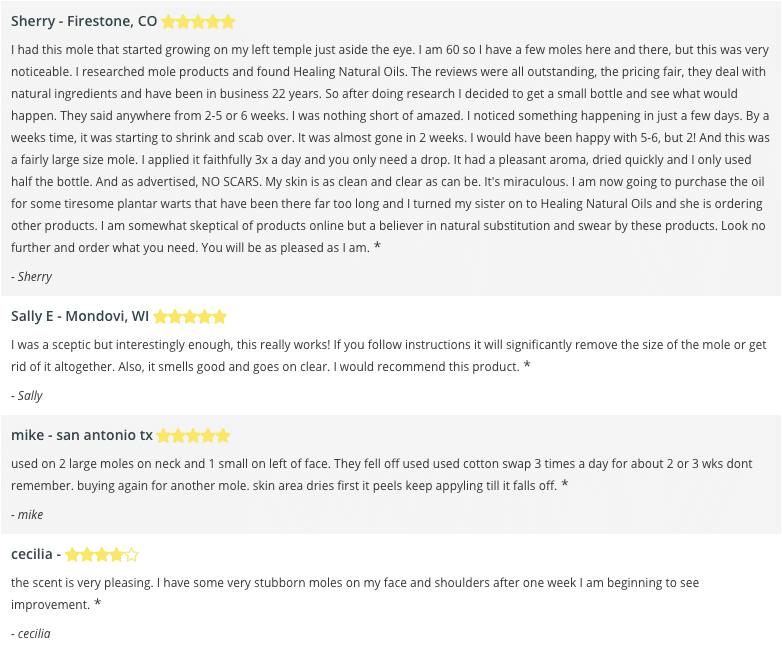 h moles formula reviews