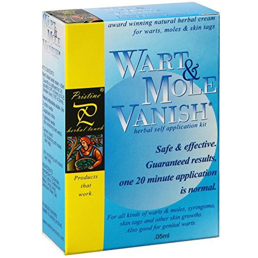 Wart and Mole Vanish From Pristine Herbal Touch